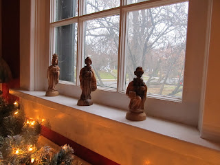 The Magi, far away on the North window sill