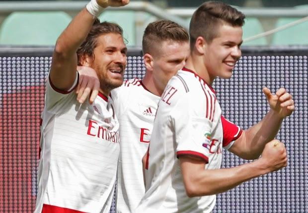 Highlights Palermo 1 – 2 AC Milan (Serie A)