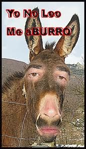 "El ""BURRO"" QUE NO LEE"