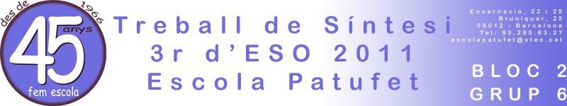 TS 3r d'ESO 1011 Bloc 2 - Grup 6