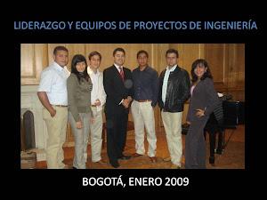 BOGOTÁ, COLOMBIA, ENERO 2009