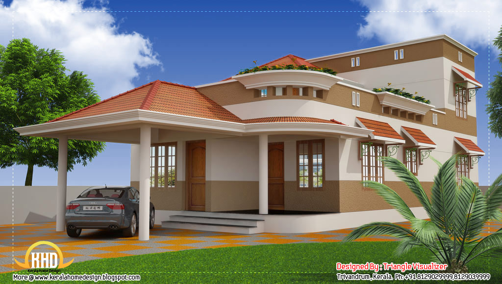 kerala home designs: august 2013