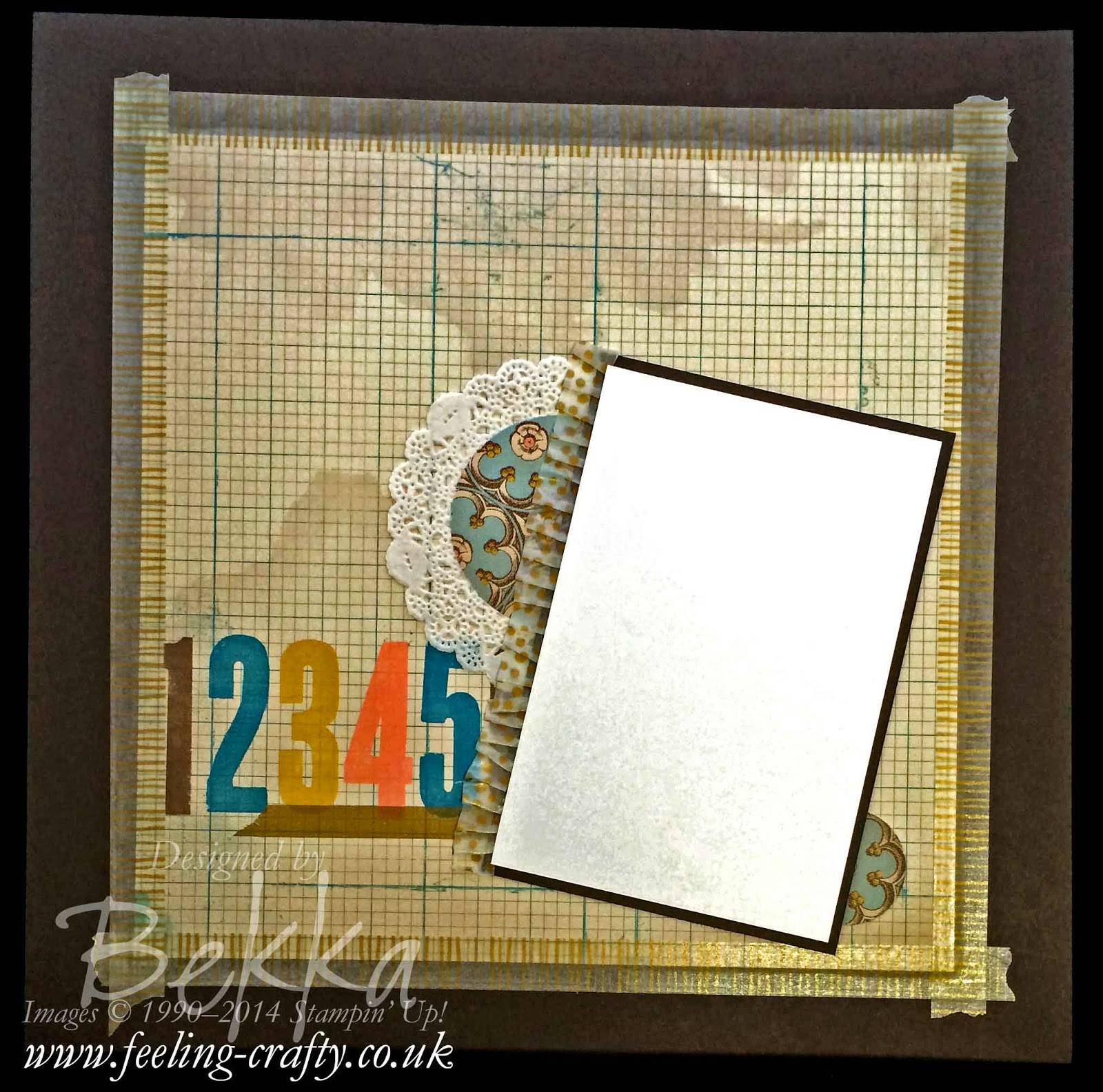 Fast, Fun and Fabulous Scrapbook Page showing how easy Scrapping Can be - more details here
