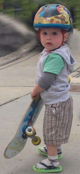 Nolan le surfeur