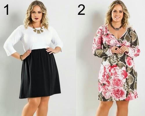 vestidos curtos florais moda feminina atual