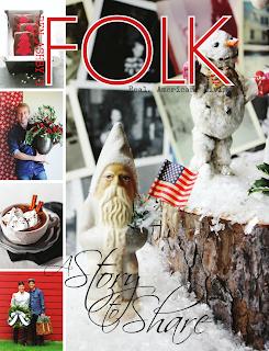 FOLK Magazine Christmas 2012