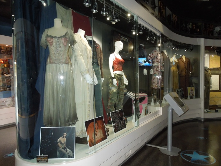 Universal Studios movie costume exhibit
