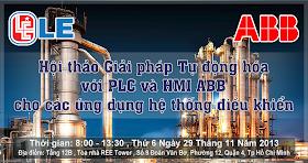 Hội thảo ABB , Biến tần ABB , PLC ABB, Màn hình HMI ABB