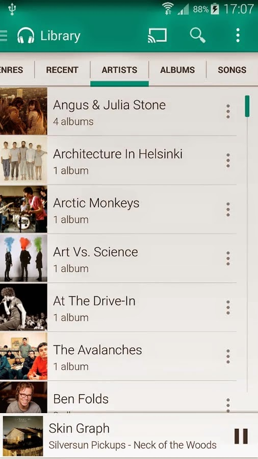 Shuttle+ Music Player v1.5.4-beta8