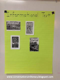 using informational text elements to identify books