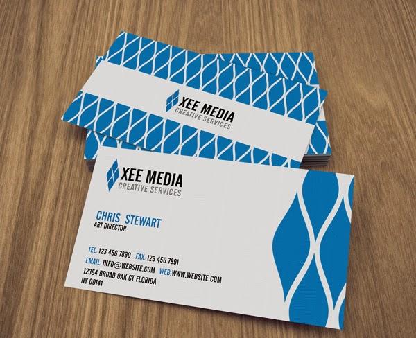 Elegant Business Card Template Design