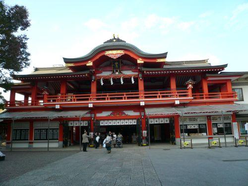 千葉神社拝殿