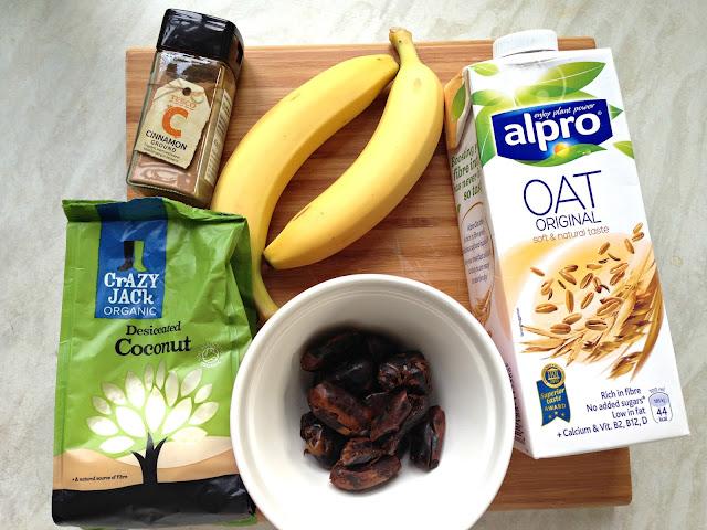 Banana Smoothie To Help You Sleep Ingredients