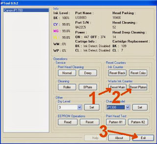 Download resetter printer canon