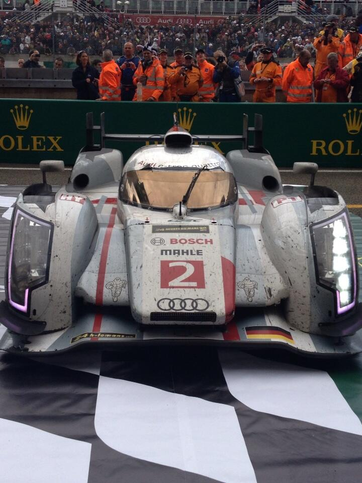 Audi R18 e-tron quattro after 2013 Le Mans