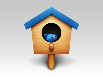 blue-twitter-birdhouse-icon