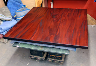 mahogany+coffee+table+1 A Square Mahogany Coffee Table