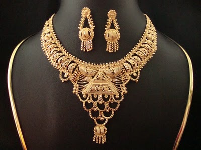 Indian Gold Jewellery Necklaces Indian Gold Jewellery Designs