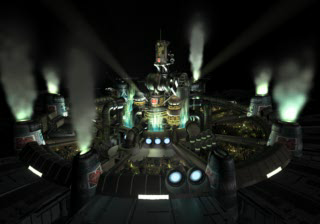 Final Fantasy 7 opening cutscene Midgar