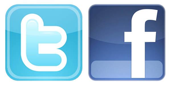 Facebook Twitter Logo