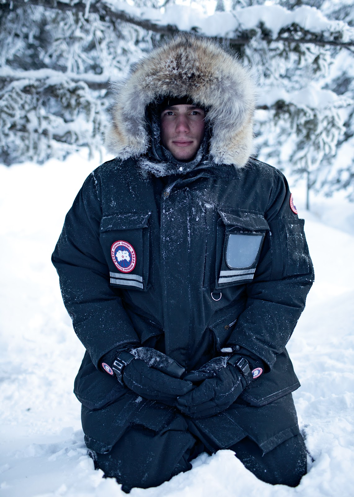 Canada Goose victoria parka online shop - CANADA GOOSE >>> BRAVE THE ELEMENTS / 14 oz. store berlin