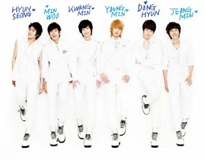 Boyfriend members K-pop