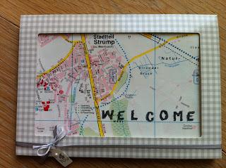 Willkommen Karte