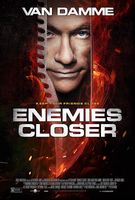 Poster Of Enemies Closer (2013) In Hindi English Dual Audio 300MB Compressed Small Size Pc Movie Free Download Only At worldfree4u.com
