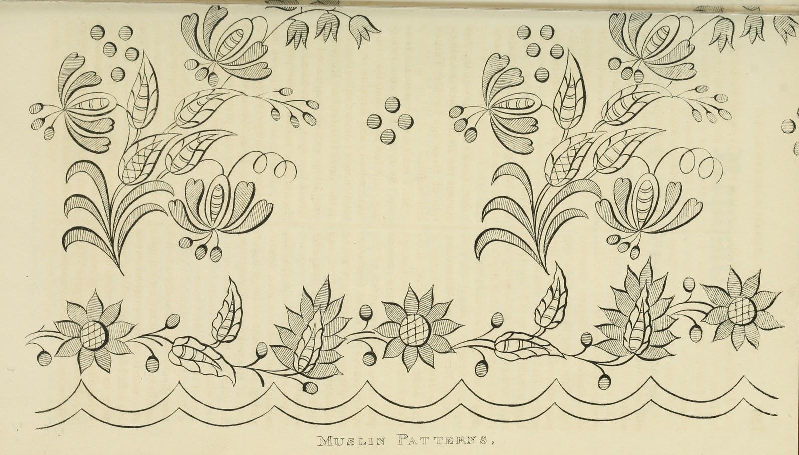 Простая роспись контурами схемы