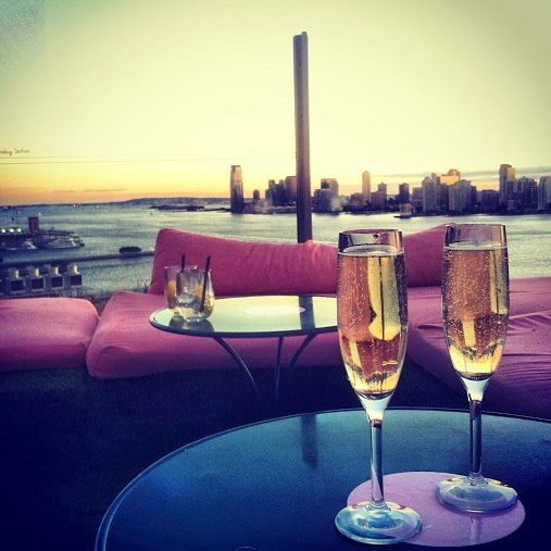 Champagne at Le Bain, The Standard