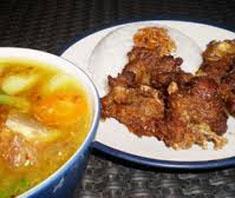Resep masakan indonesia sop buntut goreng spesial (istimewa) praktis mudah sedap, enak, gurih, lezat nikmat