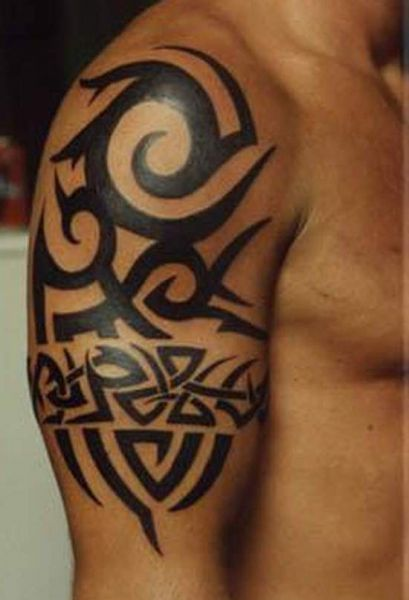 ideas for tattoos: this is a great tribal arm tattoos