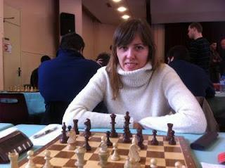 Echecs à Malakoff : la GMF Tatiana Kostiuk © Chess & Strategy