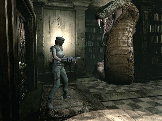 Resident Evil Remake Jill vs Snake