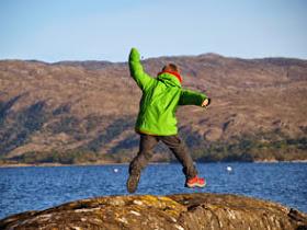 Fietsen in Schotland