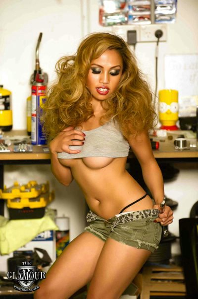 Serena Fuentes – Sexy Filipina Model from Australia