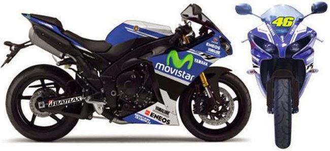 Foto Modifikasi Motor Yahama R1 Edisi Spesial MotoGP Spesifikasi Harga
