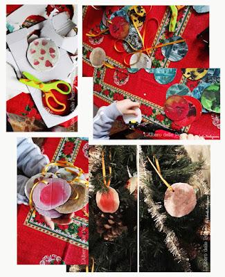 Momenti, decorazioni per albero di natale