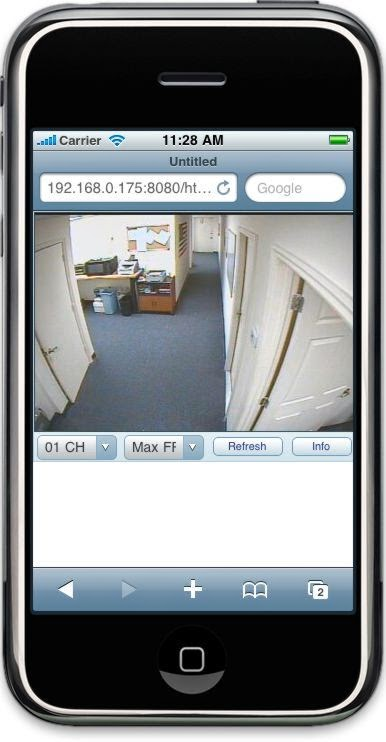 SmartPhone Remote Access/View Cctv System