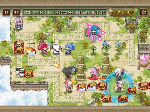 defense witches ios ipad iphone universal tower defense game