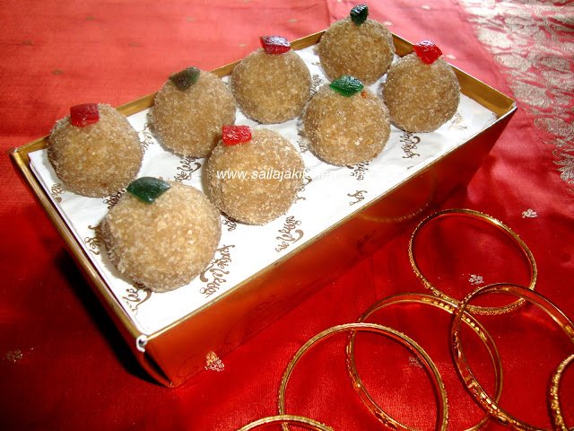 photo of Aval ladoo/Poha ladoo/Flattened Rice ladoo/Atukulu Ladoo