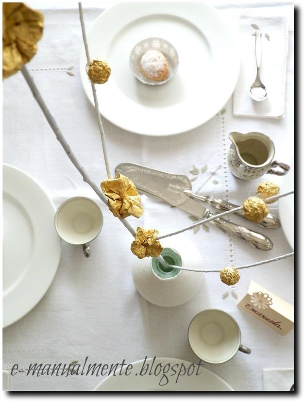 E manualmente la tavola di pasqua - La tavola di pasqua ...