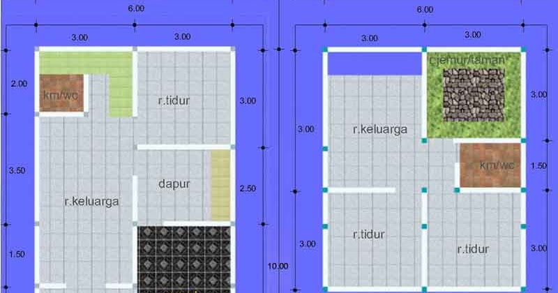 contoh gambar untuk renovasi atau bangun rumah kpr lebar