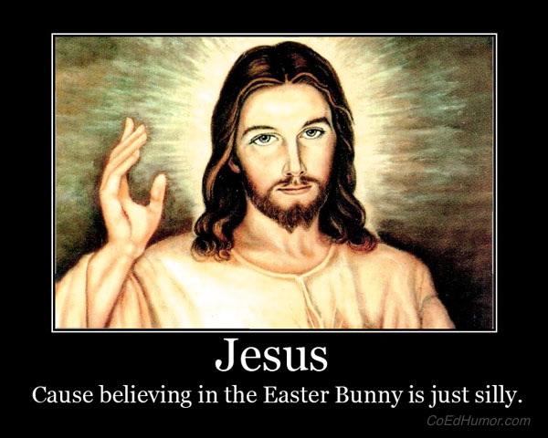 jesus bunny jpg jesus 20funnyJesus Easter Bunny