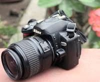 Jual 2nd Kamera Nikon D60