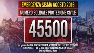 Emergenza Sisma Agosto 2016