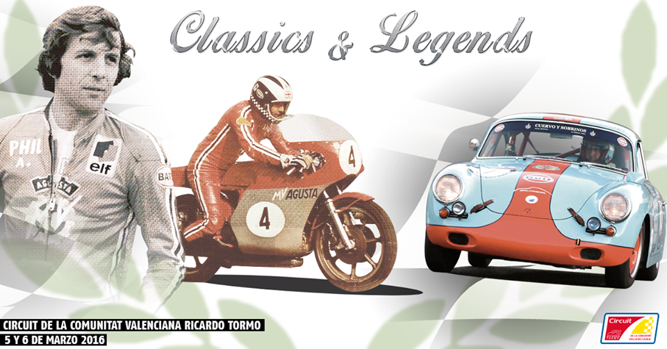 CLASSICS AND LEGENDS - CIRCUIT VALENCIA