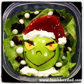Lunchboxdad the Grinch Apple