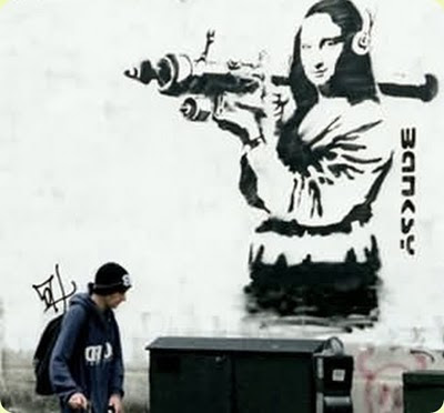 Banksy Graffiti Art Galleries Female Army