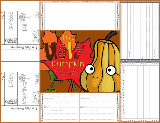 https://www.teacherspayteachers.com/Product/The-Ugly-Pumpkin-A-Common-Core-Book-Companion-968618